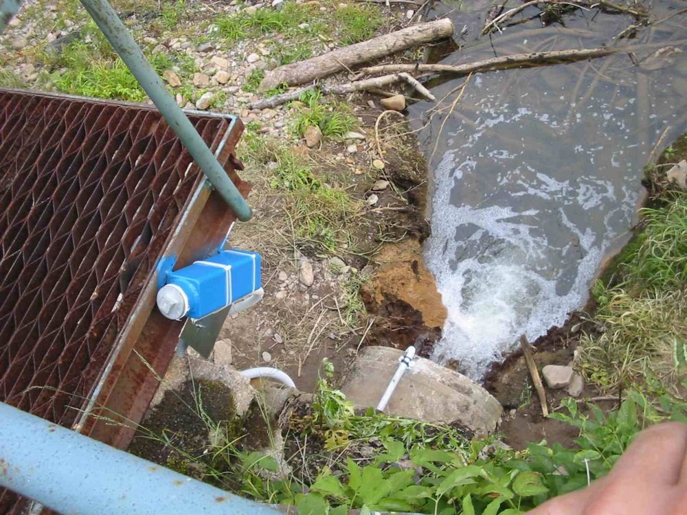 Наблюдение за качеством воды при помощи ПК<br />Дистанционное камерное наблюдение за качеством сливаемой воды «ЕСАБ» Вамберк