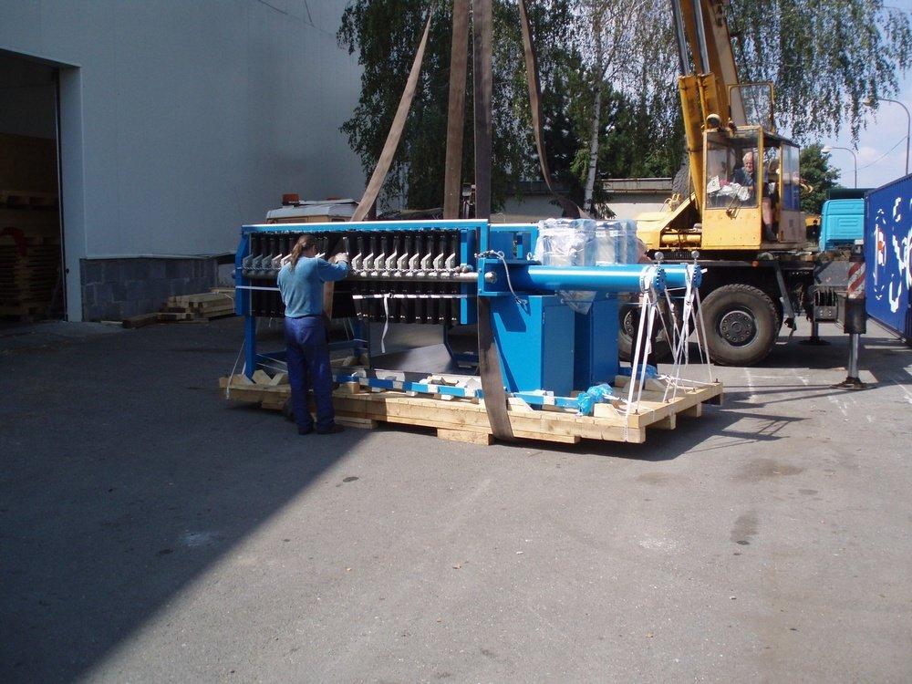 Оборудование для отгрузки за океан<br />