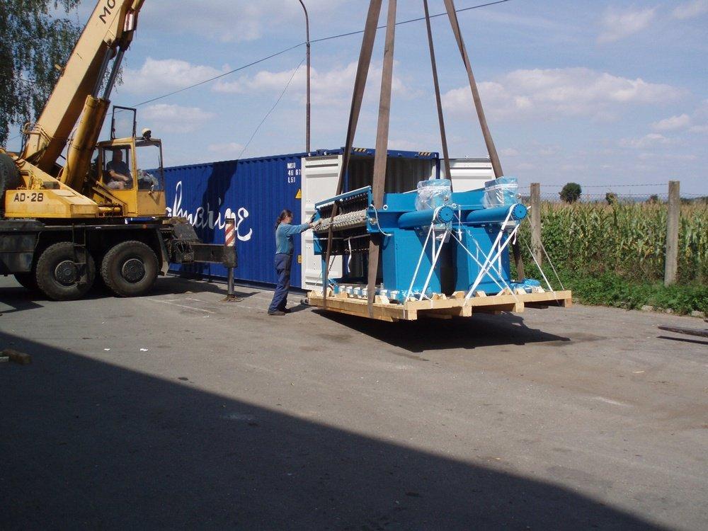 Отгрузка оборудования в Египет<br />